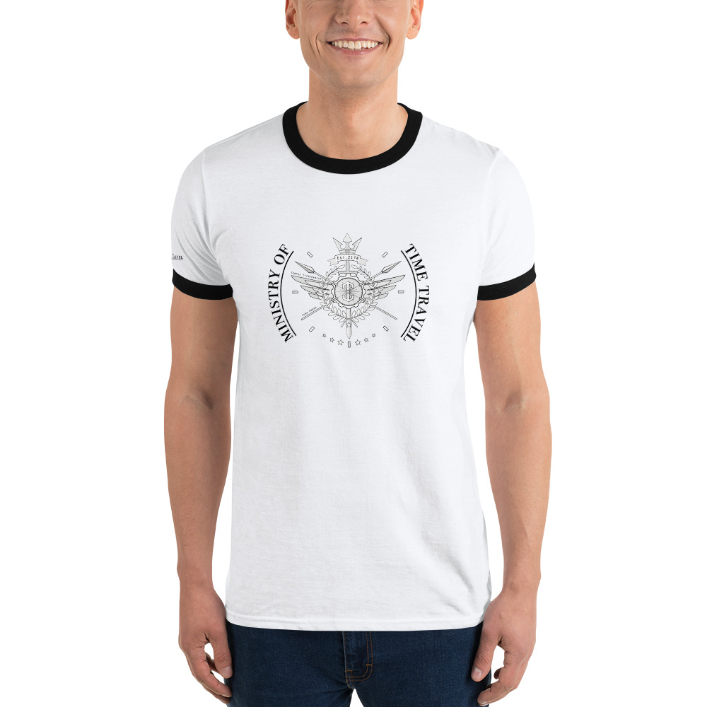 Ministry of Time Travel T Shirt