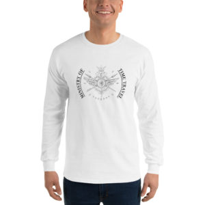 Ministry of Time Travel Emroided T Shirt