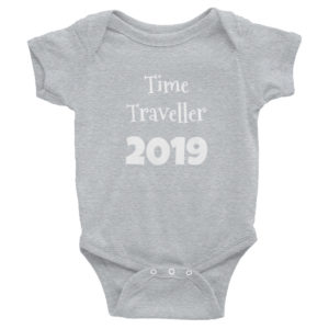 Ministry of Time Travel Baby Time Traveller Bodysuit