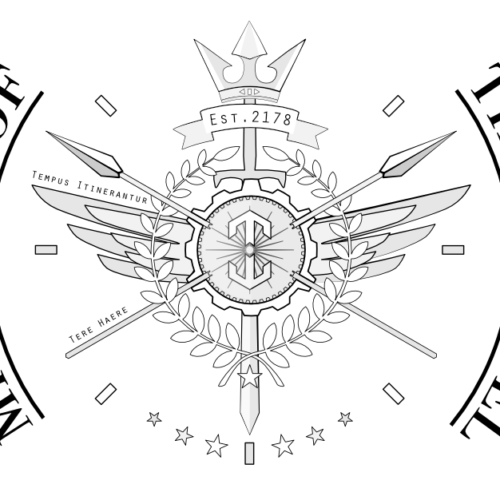 Ministry of Time Travel Logo