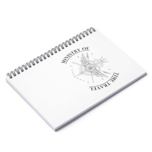 Ministry of Time Travel Notebook