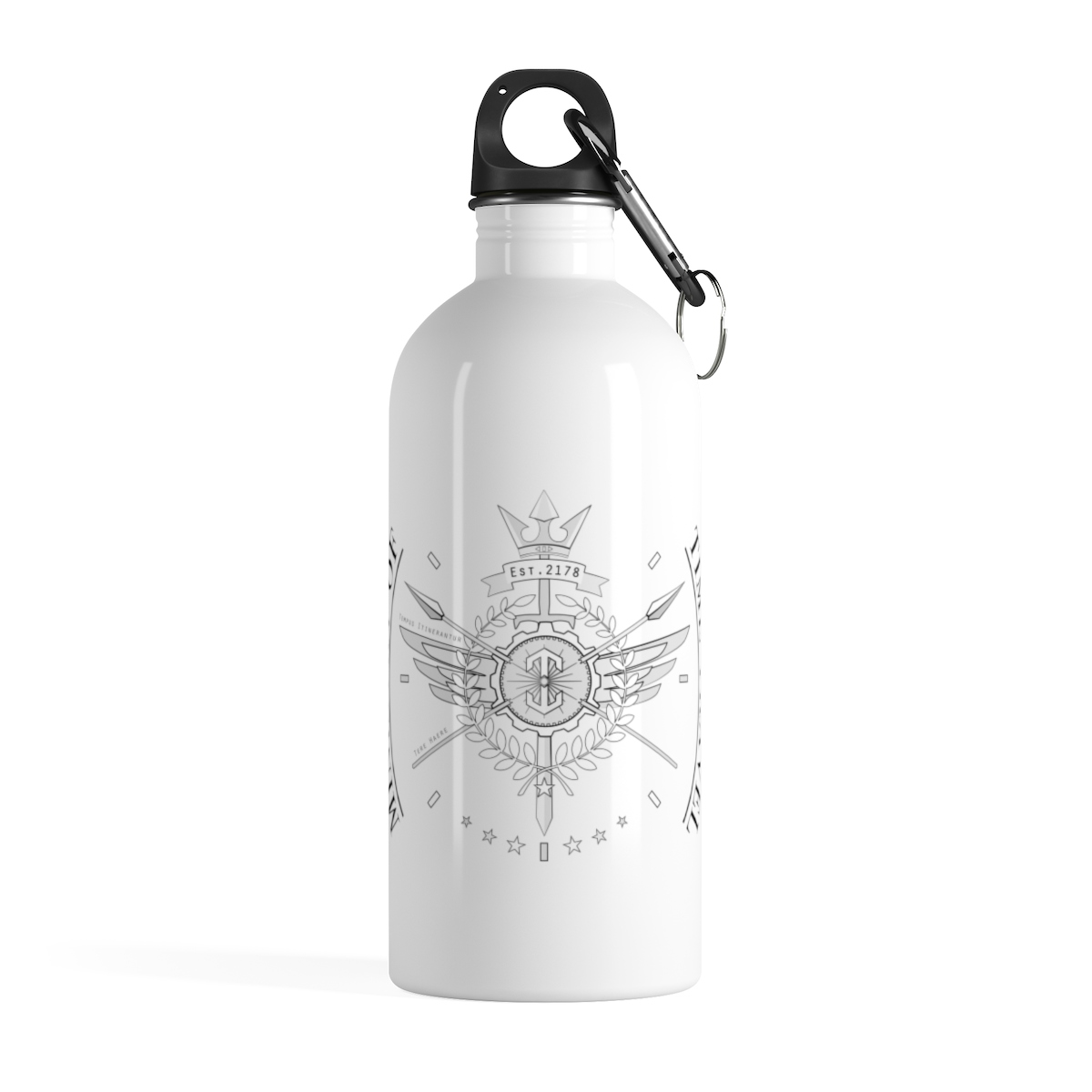 Ministry of Time Travel Water Bottle