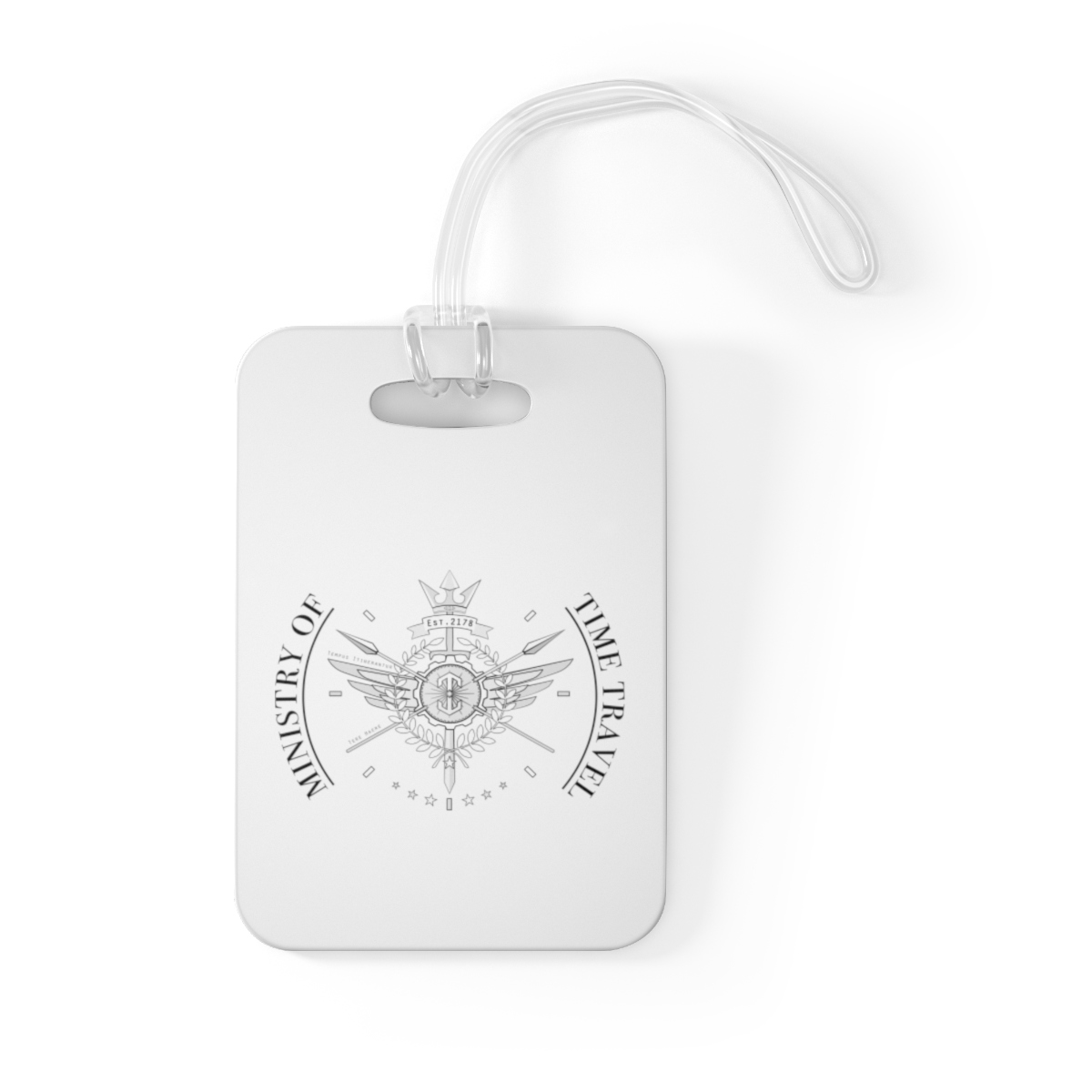 Ministry of Time Travel Bag Tag